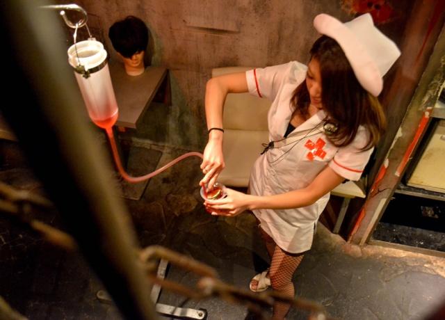 Nurse-Alcatraz-ER-Bar-in-Shibuya-Tokyo