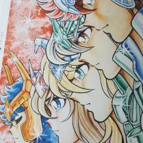 Encyclopédie inédit du Weekly Shonen Jump - Saint Saiya